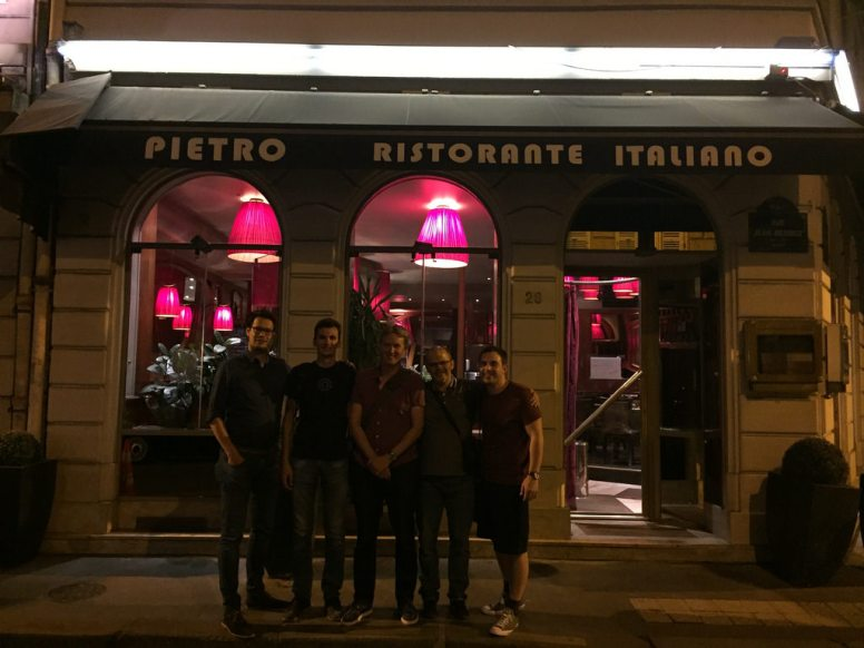 BuddyPress team in Paris, 2017